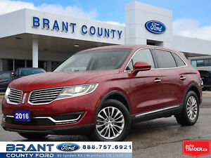 2016 Lincoln MKX Select - NAV, LEATHER, BACK UP CAM!