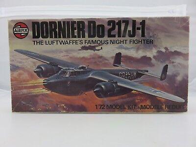 Airfix DORNIER DO217J-1 1/72 Scale Plastic Model Kit UNBUILT 1977