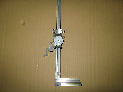 0 - 12 Dial Height Gage Single Beam New
