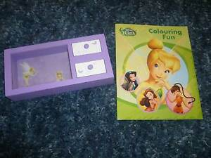 TINKERBELL TRINKET BOX AND COLOURING IN BOOK Landsdale Wanneroo Area Preview