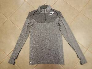Gymshark Phantom Seamless 1/4 Zip Pullover - Charcoal (Size S) Toodyay Toodyay Area Preview