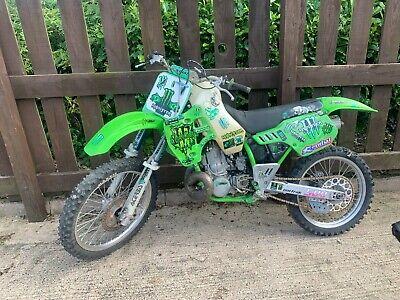 2000 Kawasaki KX500 motocross enduro supermoto project bike barn find