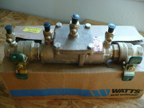 """Watts LF007M1-QT, 1"""" inch, Double Check Valve Assembly"""