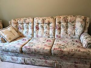 Couch & chair Excellent condition