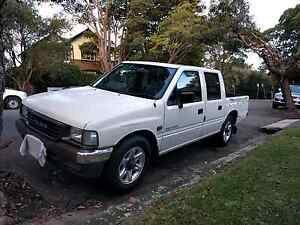 1996 Holden Rodeo 2.6 5spd manual dual cab ute Wollstonecraft North Sydney Area Preview