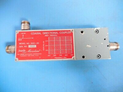 NARDA 4202B-20 20dB SMA RF Coaxial Directional Coupler 1-12.4GHz