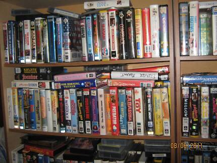 VHS VIDEO TAPES -- VIEW HUGE LIST OF MOVIES FOR SALE Bunbury 6230 Bunbury Area Preview