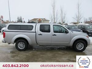 2017 Nissan Frontier SV 4x4, HEATED SEATS, BOX TOPPER
