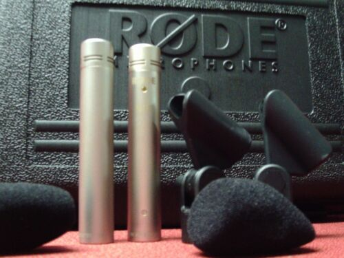 """Rode NT5MP Compact 1/2"""" Cardioid Condenser Microphones, Matched Pair"""