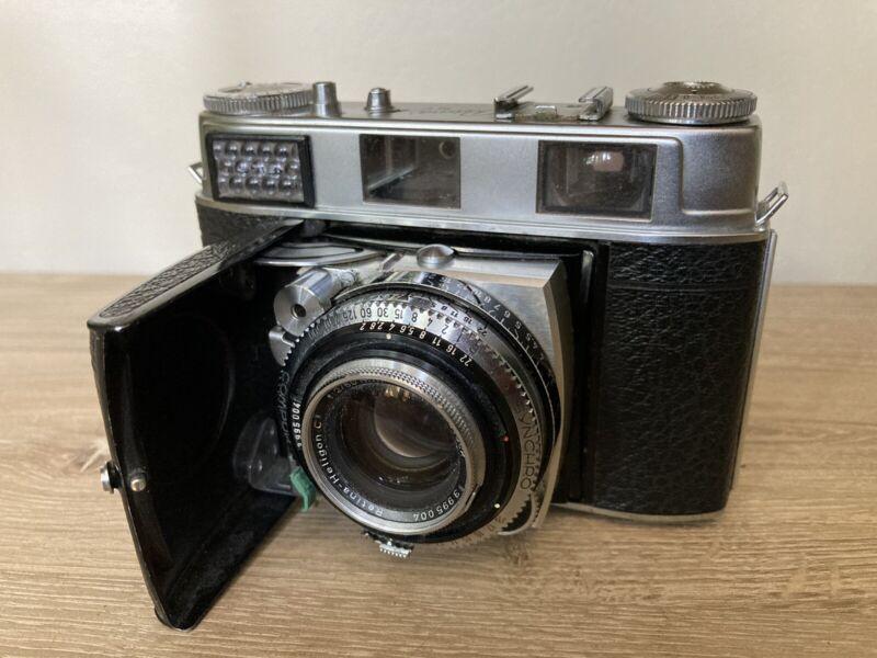 TESTED Kodak Retina IIIC Big C 35mm Rangefinder Rodenstock Heligon 50mm F2 Lens