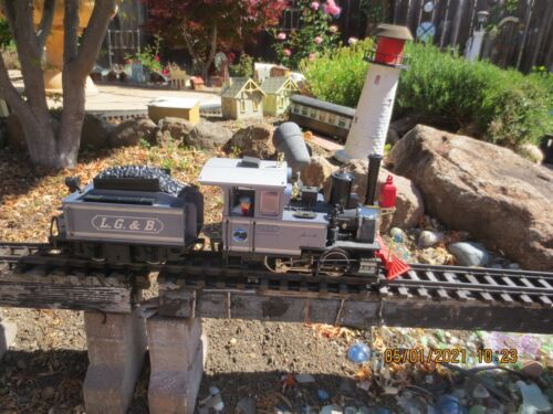 LGB 2017 G Scale Lake George & Boulder 0-4-0 Steam Locomotive & powered tender