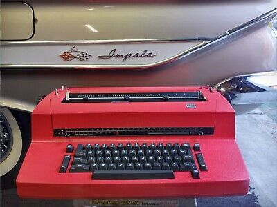 Ibm Selectric Ii Typewriter. Reconditioned To New Condition.