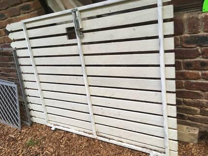 Steel Frame Side Gate | Building Materials | Gumtree Australia ...