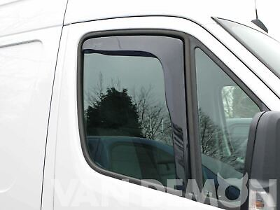 Tinted Front Window Heko Wind Deflectors 2pc Set for Mercedes Sprinter 2006 on
