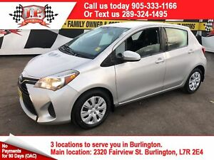 2017 Toyota Yaris LE, Automatic, Bluetooth, 48,000km