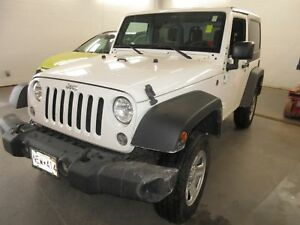 2016 Jeep Wrangler 4X4! ALLOYS! TRAILER HITCH! ONLY42K!