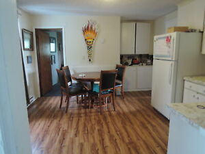 Central Hfx, main level  Flat, + Basment, Yard, Parking