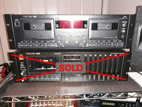 Tascam 302 Dual Tape Deck