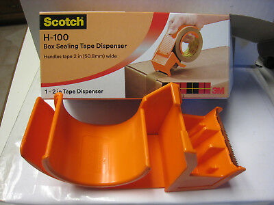 3m Scotch Handheld 2 Packaging Tape Dispenser - H-100 Box Tape Dispenser 11600