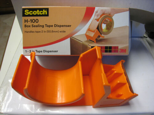 "3M Scotch Handheld 2"" Packaging Tape Dispenser - H-100 Box Tape Dispenser 11600"