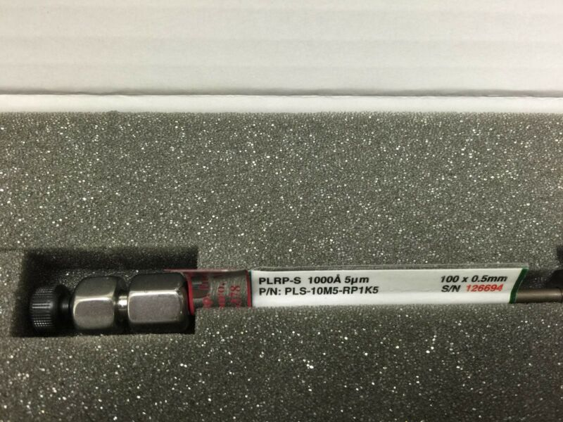 New Higgins PLS-10M5-RP1K5 1000A 5um 100x0.5mm  HPLC Column