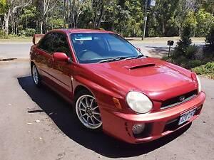 2001 Subaru WRX Sedan Mullumbimby Byron Area Preview
