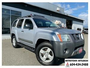 2006 Nissan Xterra S; Local BC vehicle! LOW KMS!