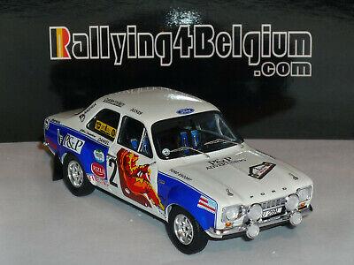 1/43 Trofeu Ford Escort MKI #2 Winner Rally Ieper Ypres 1974 Stapelaere  RRBE02