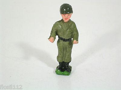 Elastolin/Lineol/Hauser Figur, Spur 0/1,Militär,Top