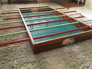 Antique Foosball table