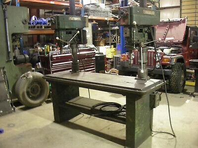 Powermatic Mdl 1200 Dual Head Table Mounted Drill Press 1 1-12 Hp 208-23044