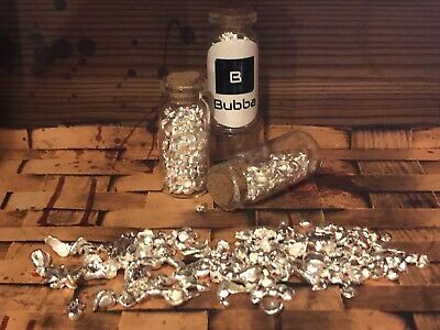 .999 Fine Silver Bullion— Silver Shot & Nuggets - 1 OZ  - With Vial