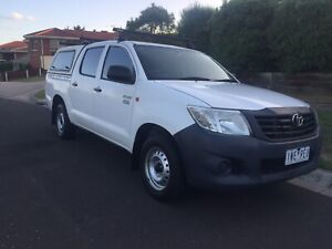 2012 Toyota Hilux Workmate Manual 4x2 MY12 Double Cab