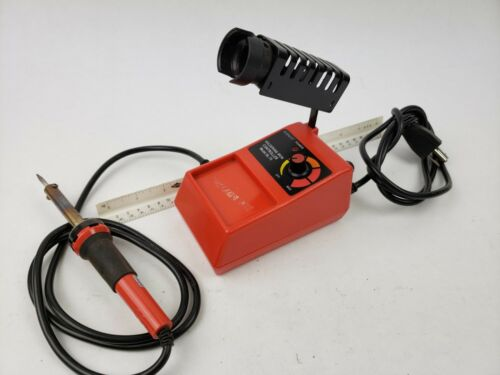 Elenco Soldering Station variable heat 48 Watt with Iron Holder circuit solder