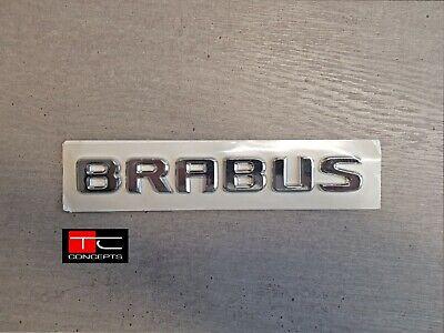 BRABUS Logo Emblem Schriftzug  Heckklappe C63 E63 S63 GLE63 GLS63 G63 G500 S500