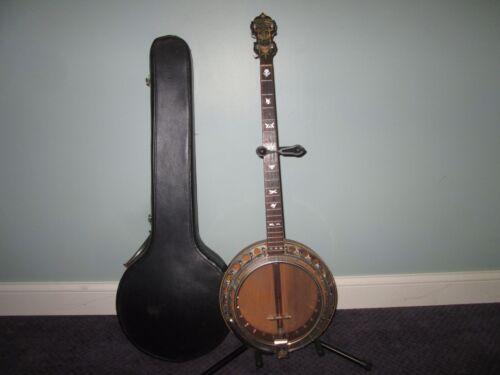 Wm. L. Lange Paramount Model C Plectrum Banjo 1930 Vintage