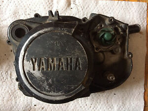 Yamaha DT200  Clutch Cover w/ Water Pump