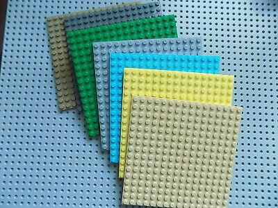 1 LEGO Plate 16X16 part 91405 Baseplate/building platform pick your color
