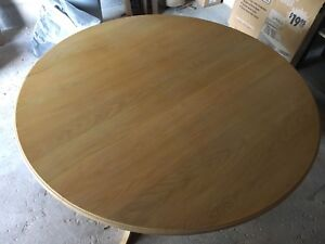White Oak Custom Made Dining Room Table