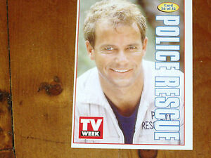 POLICE RESCUE - TV WEEK ALL TIME CLASSIC #26 COLLECTION CARD ' 1995/6 MINT