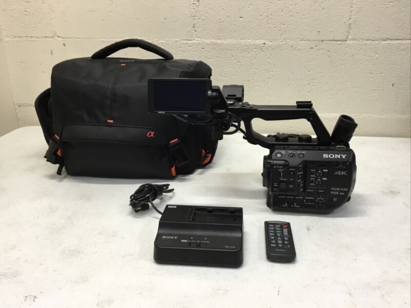 SONY 4K XDCAM FS5II Video Camera Camcorder PXW-FS5M2