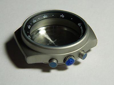 Orfina Porsche Design Chronograph Steel Case NOS PVC  For Lemiania 5100 Movement