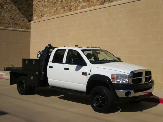 Used Rvs For Sale In Texas By Owner >> 2008 Dodge Ram 5500 Flat Bed Welding Truck One Owner Fully Service Free Shipping - Used Dodge ...