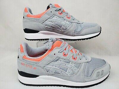 ASICS GEL-LYTE III OG Mens Sz 9 Gray-Neon Sales Sample shoes A2