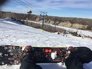 Snowboard + bindings + boots= only $350