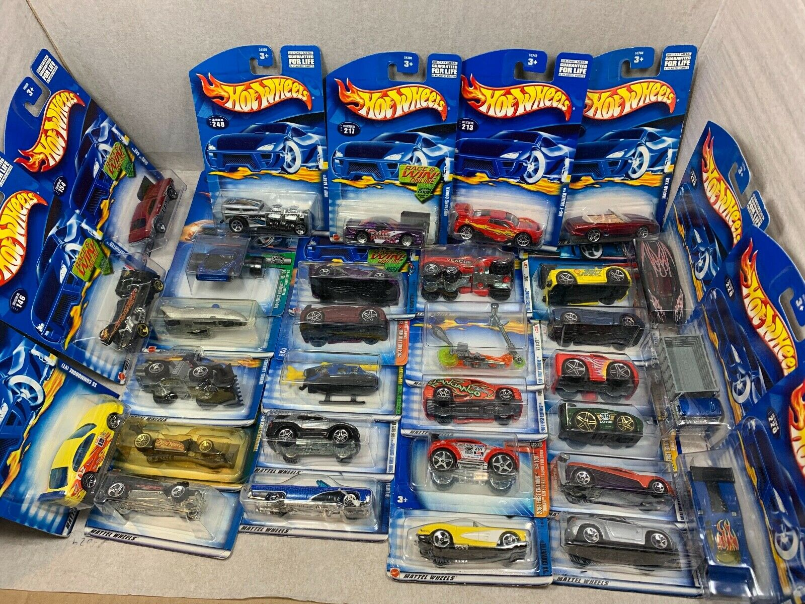 BRAND NEW  IN THE BOX MATTEL HOT WHEELS  DIE CAST COLLECTABLE CARS 1990'S Cars, Trucks & Vans