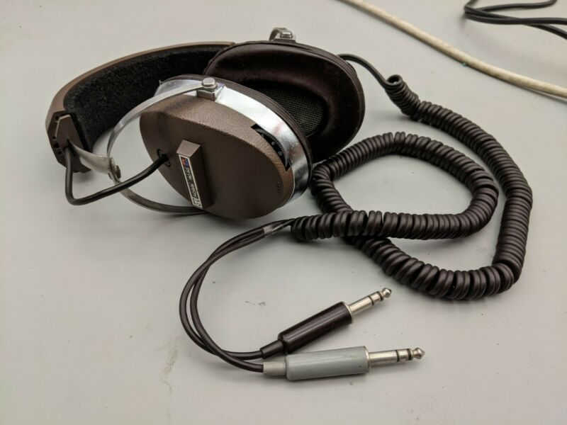 Vintage Koss Pro 5Q  Quadrafone 2 and 4 Channel Stereo Headphones 1970s Work!