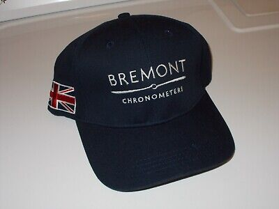 Bremont Watch New Hat with Union Jack Flag Very Rare