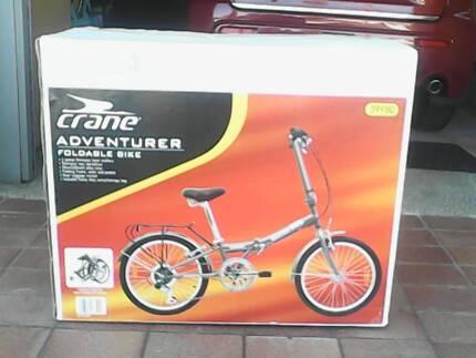 Crane Adventurer foldable bike Everton Park Brisbane North West Preview