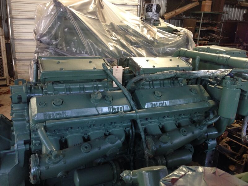 Detroit Diesel 1671 Reman Engine 16v71 Reman Engine  16v-71